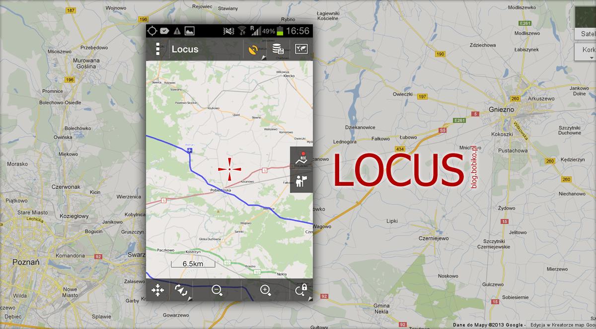 Locus - Twój mapnik i gps logger