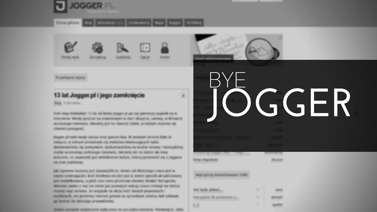 Bye Jogger