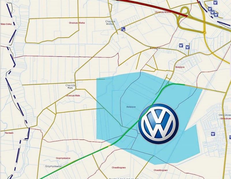 VW Września na mapie