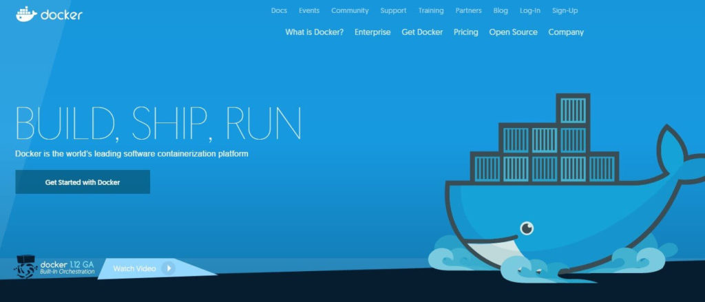 windows 10 & Docker