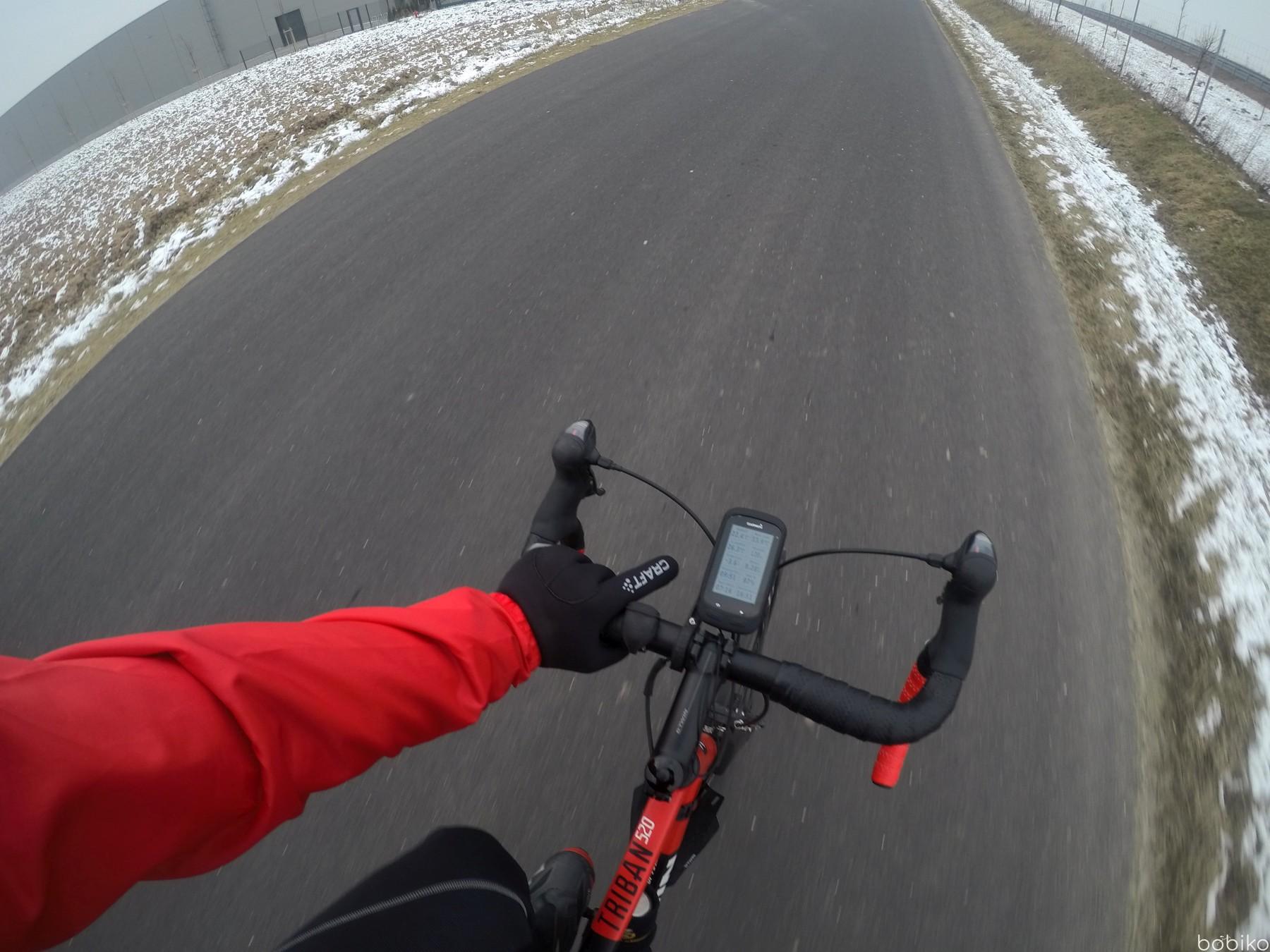 na rower jesienia i zima