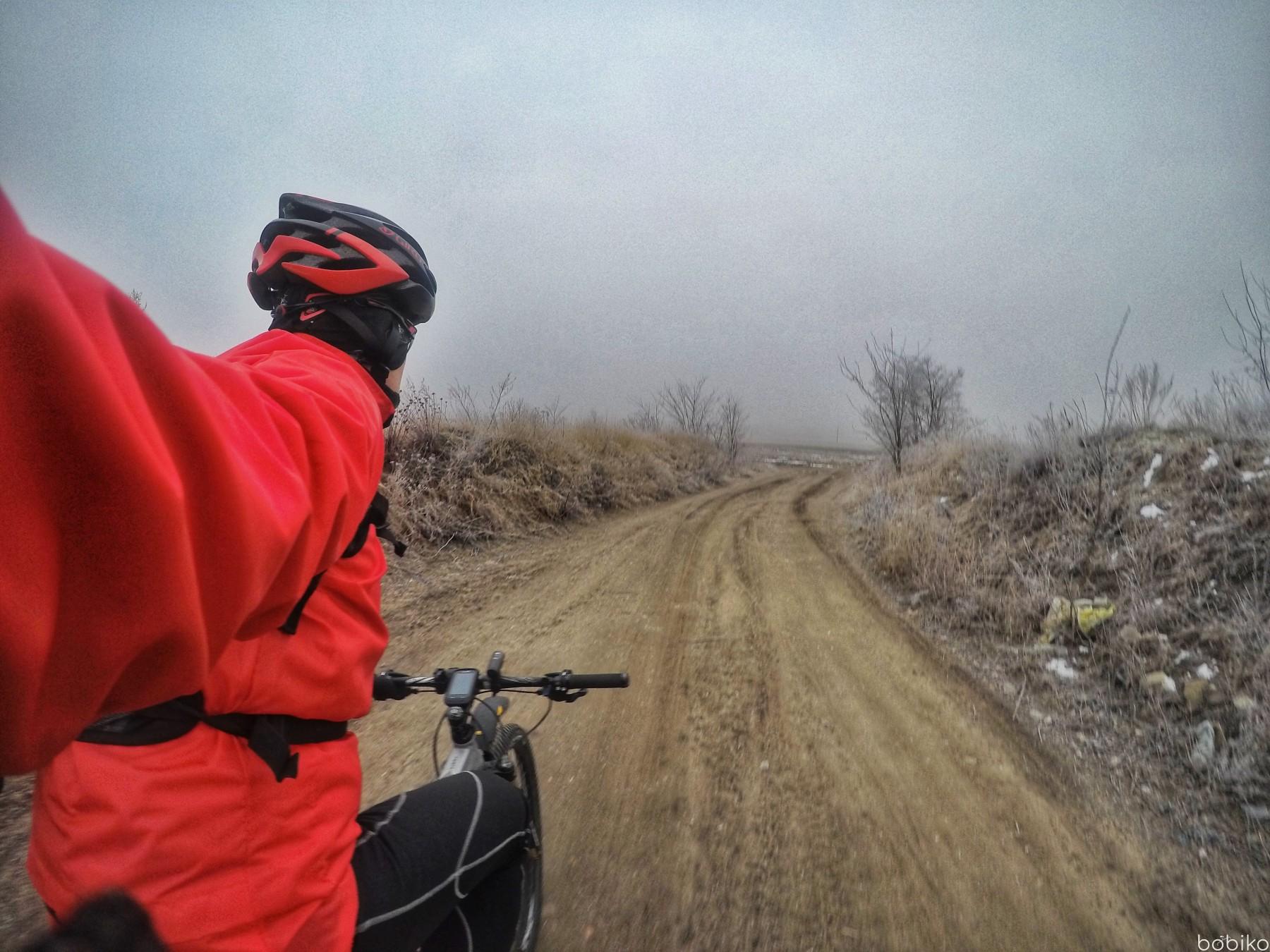 na rower jesienia i zima - testowanie na mtb